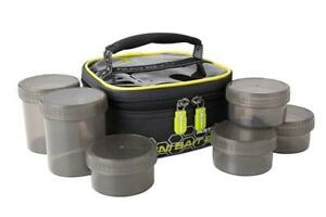 Fox Matrix Mini Bait Bag (inc 6 pots) / Coarse Fishing Luggage
