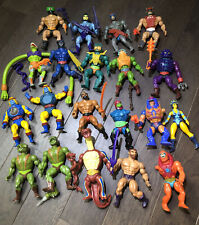 20 Motu Masters Of The Universe He-man Action Figures 1981 1982 1983 TAIWAN SOFT