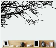 Wall stickers Decal Removable Art Black Big Tree Branch Home Mural Decor DIY