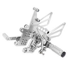 Adjustable Rearsets Footpegs Rests For TRIUMPH T595 T509 955i SPEED TRIPLE 10