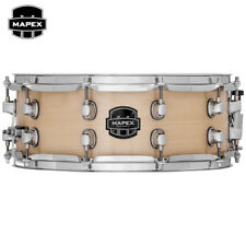 "NEW Mapex MPX Birch 14"" x 5.5"" Transparent Natural Snare Drum MPBC4550CXN"