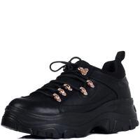 Womens Chunky Platform Trainers Shoes Sz 3-8