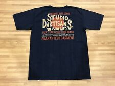 Studio D'Artisan T Shirt LOOPWHEELED Ultra RARE Size L Made in Japan BNWT NAVY