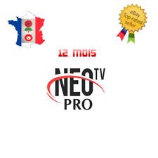 NEO iptv Pro 2 ABONNEMENT 12 mois,smart Iptv, android TV box, mag,H265, VLC