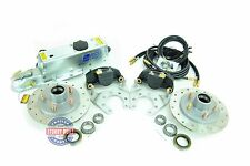 Tie Down Eng Stainless Steel Disc Brake Kit 9.6 in Single Axle w/ Actuator