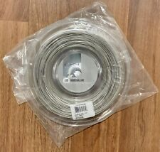 Luxilon Adrenaline 16g 130 Reel (1.30mm Tennis String) 200m/660ft. Silver. New