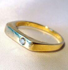 Schöner Brillant Ring 585 Gold 0,07ct / CA 049