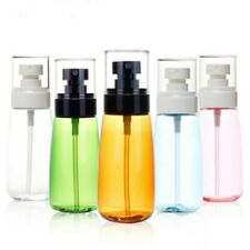 3x 80ml Amber Essential Oil Plastic Spray Roller Bottles Fine Mist Sprayer