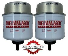 36693 Fuel Manager Fuel Filter Twin Pack (2 pack) 2 Micron