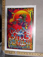 2001 Rock Roll Concert Poster Crosby Stills and Nash FGX S/N LE # 200