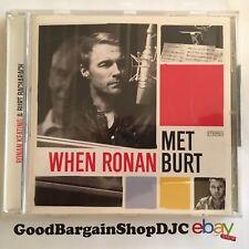 When Ronan Met Burt Bacharach (CD, 2011) *New & Sealed*