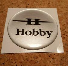 "HOBBY Prestige Caravan Logo Front Sticker 17.5/"" x 11/"" Dark Blue x 1 Free Post"