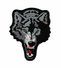 Biker Motorcycle Patch Lone Wolf