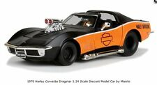CHEVROLET CORVETTE 1:24 HARLEY DAVIDSON Diecast Car Model Die Cast Cars Models