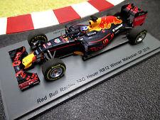 1/43 red bull racing rb12 #3 Daniel Ricciardo winner gp malasia' 16 Spark s5023