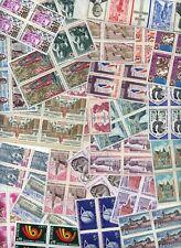 LOT DE 100  BLOCS  DE  4 TIMBRES  NEUFS**  Années 1970 -1974 (lot 06692020)