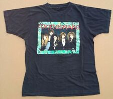 WHITESNAKE w/STEVE VAI T-Shirt VINTAGE Original 1990 Metal Coverdale/Deep Purple