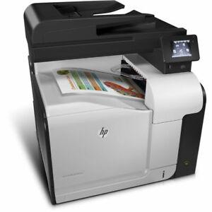 HP Laserjet 500 Color MFP M570dn M570 A4 Printer Toner Level, Up To 90% WARRANTY