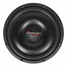 "NEW American Bass 12/"" Slim Mount Wooofer 500 watts max 4 Ohm SVC SL124"