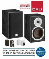 Dali Spektor 1 Bookshelf Speakers Available in Black, Walnut or White