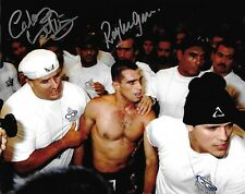 Royler Gracie & Carlos Valente Signed 8x10 Photo Pride 8 2 UFC Picture Autograph