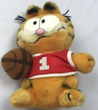 1981 Vintage Dakin Plush Garfield Rare Stuffed Cat Animal Htf