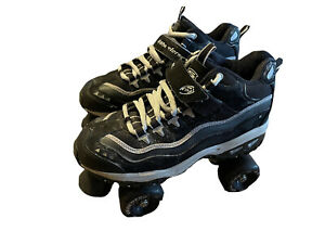 skechers 4 wheelers roller skates size 8 Black