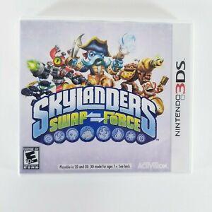 Skylanders Swap Force Nintendo 3DS Authentic CIB