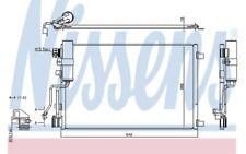 NISSENS Condensador de aire acondicionado 940417