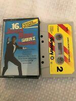 Rare James Bond 007 Cassette Tape - '16 James Bond Film Themes' (Dutch Import)