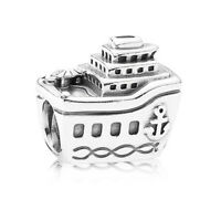 Authentic Pandora All Aboard Cruise Ship Sterling Silver Charms 791043 Travel
