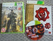 Xbox 360 Spiel-Gears of War 3-inkl. Aufkleber Blatt