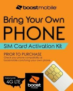 Boost Mobile - Bring Your Own Phone - 3-in-1 SIM Card Activation Kit