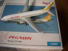 Pegasus Boeing 737-800 W TC-APJ  1:500  Herpa Wings 505628