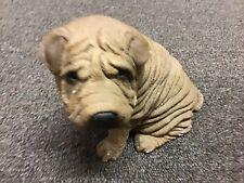 Vintage Sandicast Shar Pei Dog #192 Dog Figurine Signed 1986