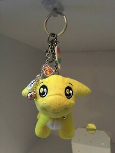 * Unique * NEOPET Keychain with PETPET Charms - POOGLE