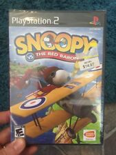 Brand New Snoopy vs. The Red Baron (Sony PlayStation 2, 2006) Factory Sealed