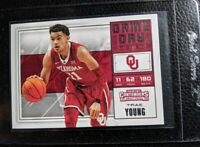2018 CONTENDERS GAME DAY #6 TRAE YOUNG ROOKIE CARD RC ATLANTA HAWKS GEM MINT