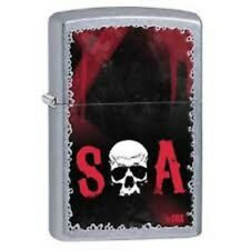 SONS OF ANARCHY SOA ZIPPO LIGHTER Official Licensed Gift