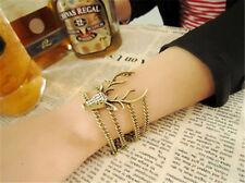 Game of Thrones Baratheon Stag Sigil Bracelet in Gold Tone w Rhinestones