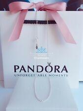 New Authentic Pandora Sterling Silver Ajustable Necklace Chain 45cm/70cm/90cm
