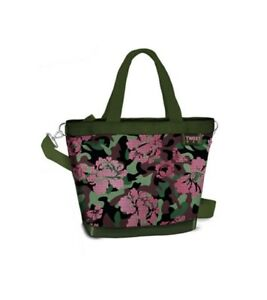 TWIIT Bag medium, VERDE, FLOWER, VERNICIATO, Cod. 57622