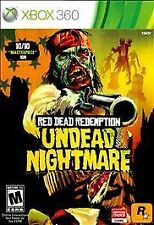 Red Dead Redemption: Undead Nightmare (Microsoft Xbox 360, 2010) NEW PLATINUM