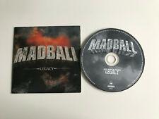 Madball / Legacy / Promo CD Cardsleeve / RR Promo 853 / 2005