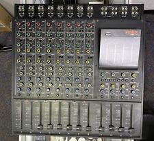 "Fostex Model 450 8-Channel Mixing Board Mixer Missing 2 ""Peaks� Knobs"
