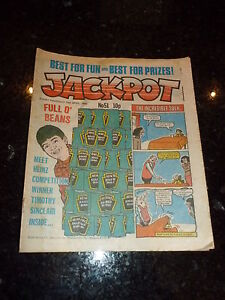 JACKPOT Comic - No 51 - Date 19/04/1980 - UK PAPER COMIC