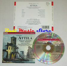 CD VERDI Attila prologo atto I RAIMONDI DEUTEKOM MILNES BERGONZI lp mc dvd