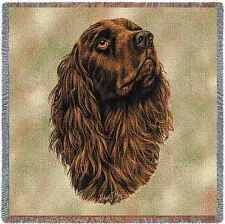 Lap Square Blanket - Boykin Spaniel by Robert May 1186