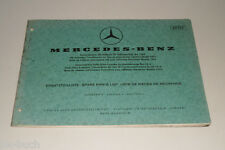 Catalogo Ricambi Mercedes Benz Automatico Trasmissione Bm 720 Uscita a 11/1970