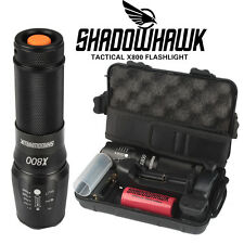 8000lm Authentique Shadowhawk X800 lampe de poch tactique LED Torch militaire